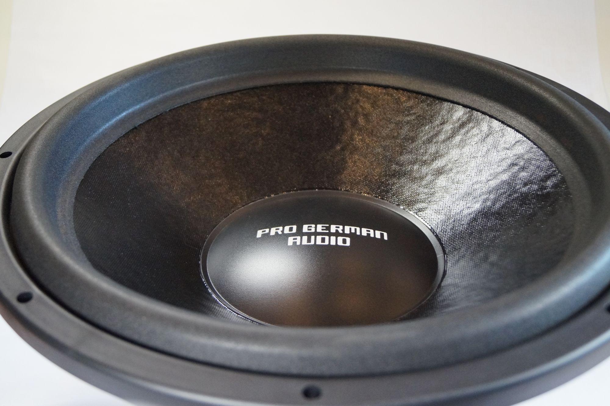 "PG Audio 1522 Boom, 15"" 38 cm Subwoofer, 2400 Watt max.1 Stück 001"