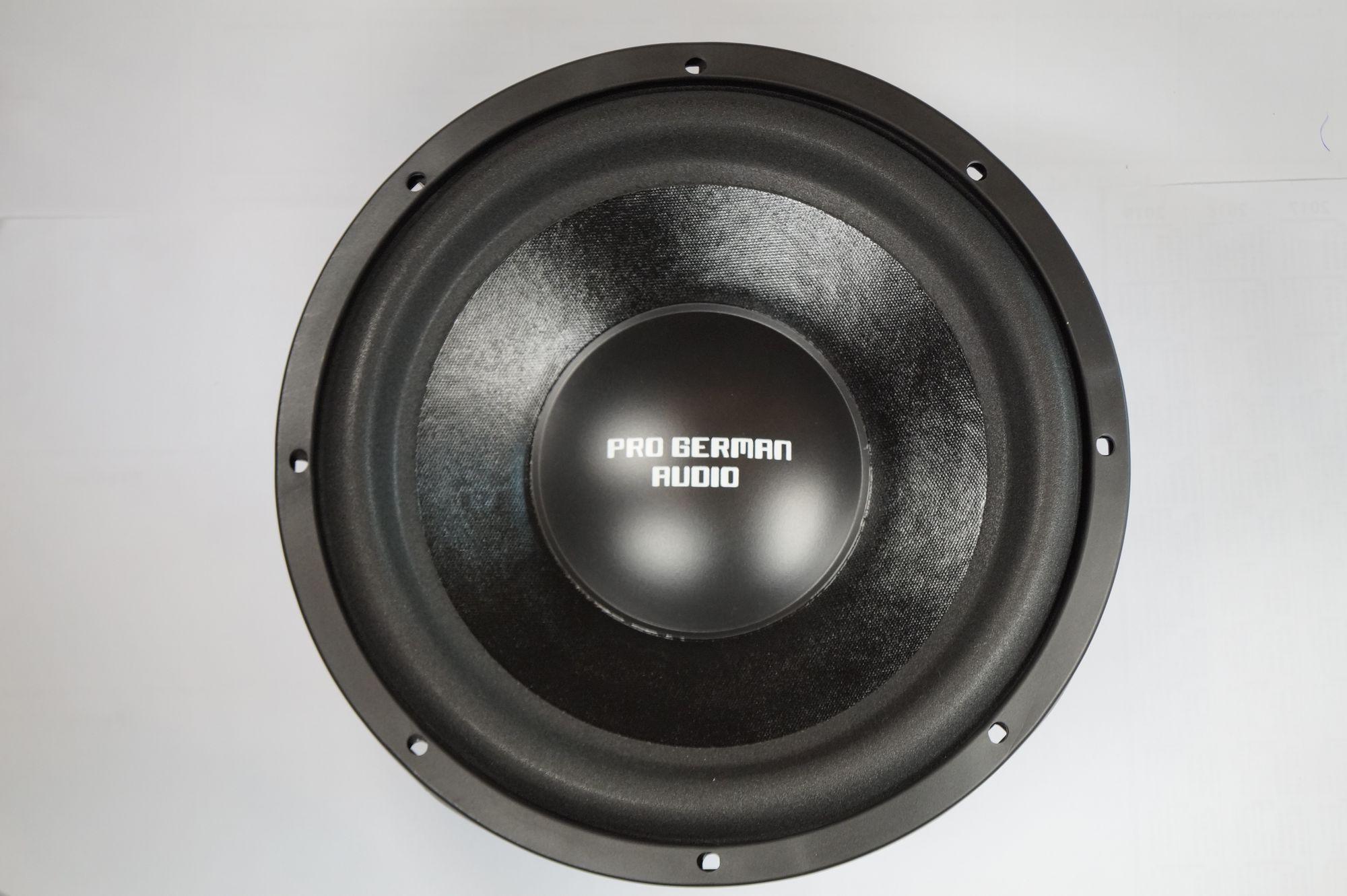 "PG Audio 1222 Boom, 12"" 30 cm Subwoofer, 2000 Watt max.1 Stück 001"
