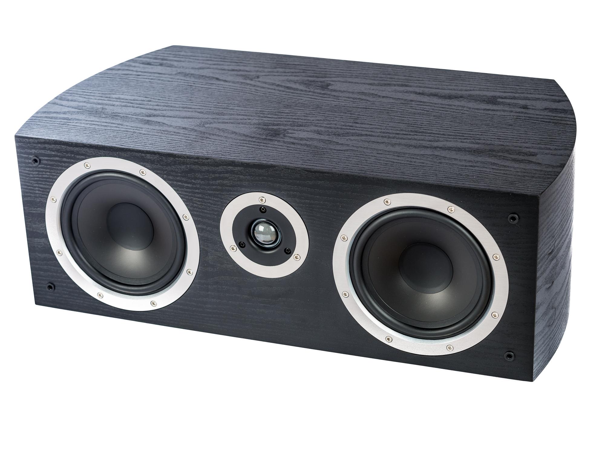 PG Audio universeller XL Center Lautsprecher, 2 Wege Bassreflex, schwarz, Neu-Ware – Bild 2