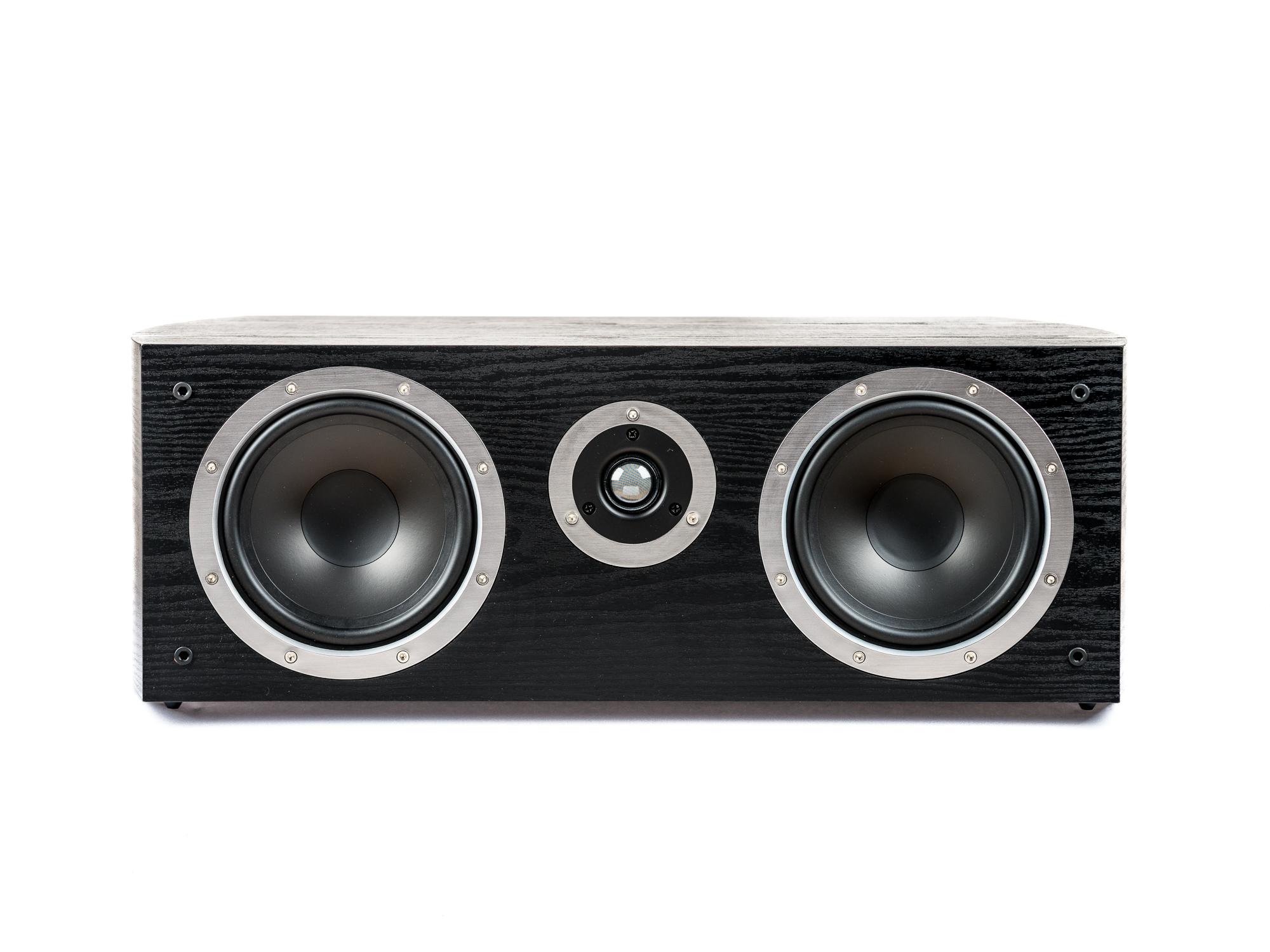 PG Audio universeller XL Center Lautsprecher, 2 Wege Bassreflex, schwarz, Neu-Ware 001