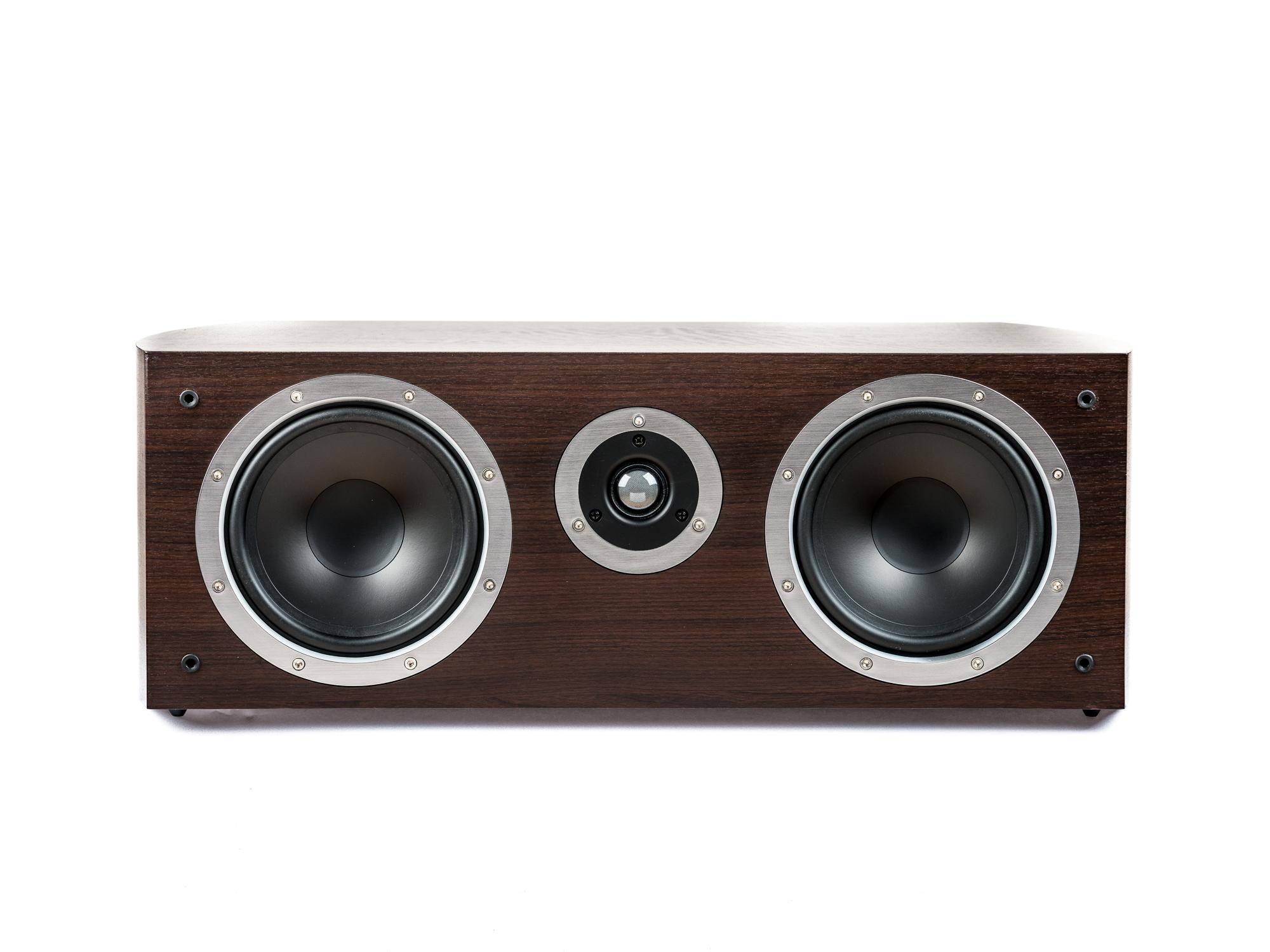 PG Audio universeller XL Center Lautsprecher ,2 Wege Bassreflex, mocca, Neu-Ware 001