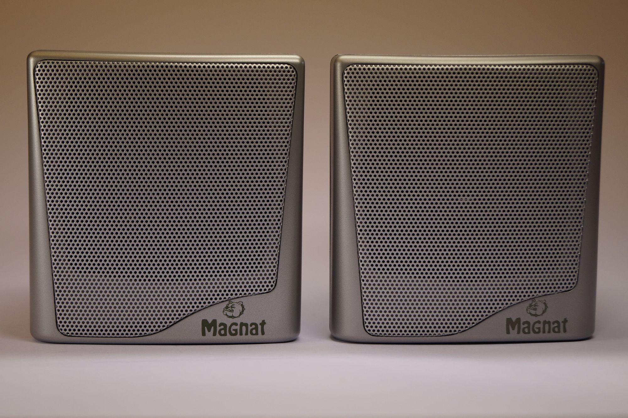 Magnat Cubus 5.1 Front oder Rear Lautsprecher Satellite silber,1 Paar 001
