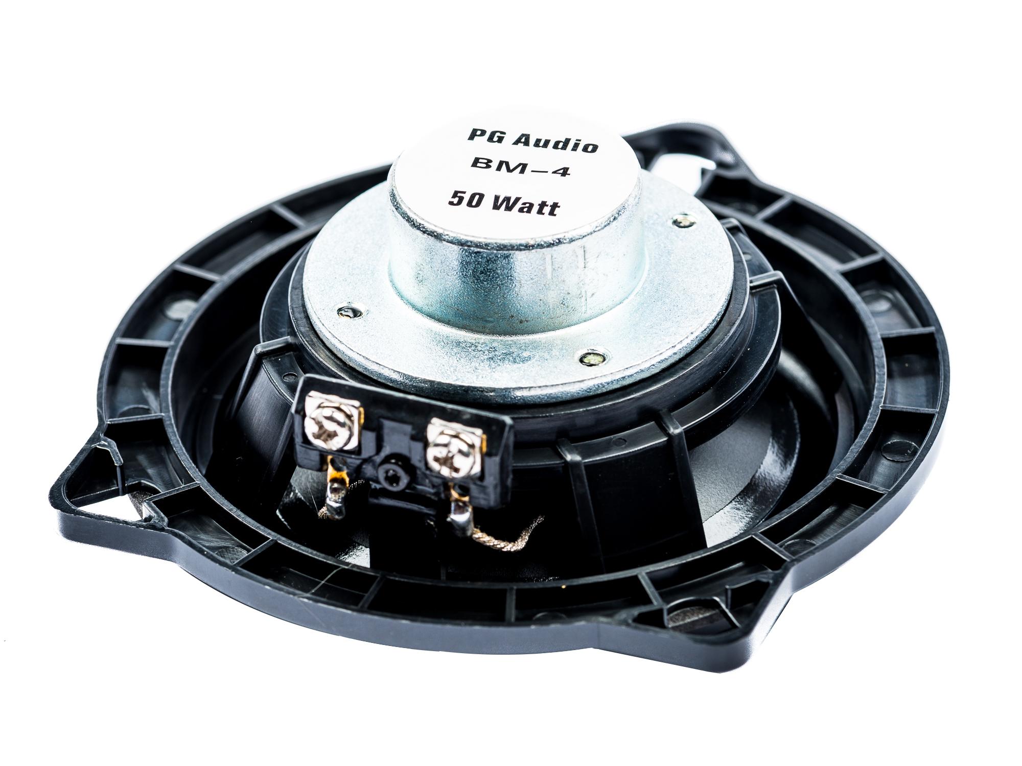 PG Audio BM-4, 10 cm Koaxial passend für BMW Lautsprecher für 1er (E81, E82, E87, E88), 3er (E90, E91, E92) 5er (E60, E61), X1 (E84) 1 Paar – Bild 3