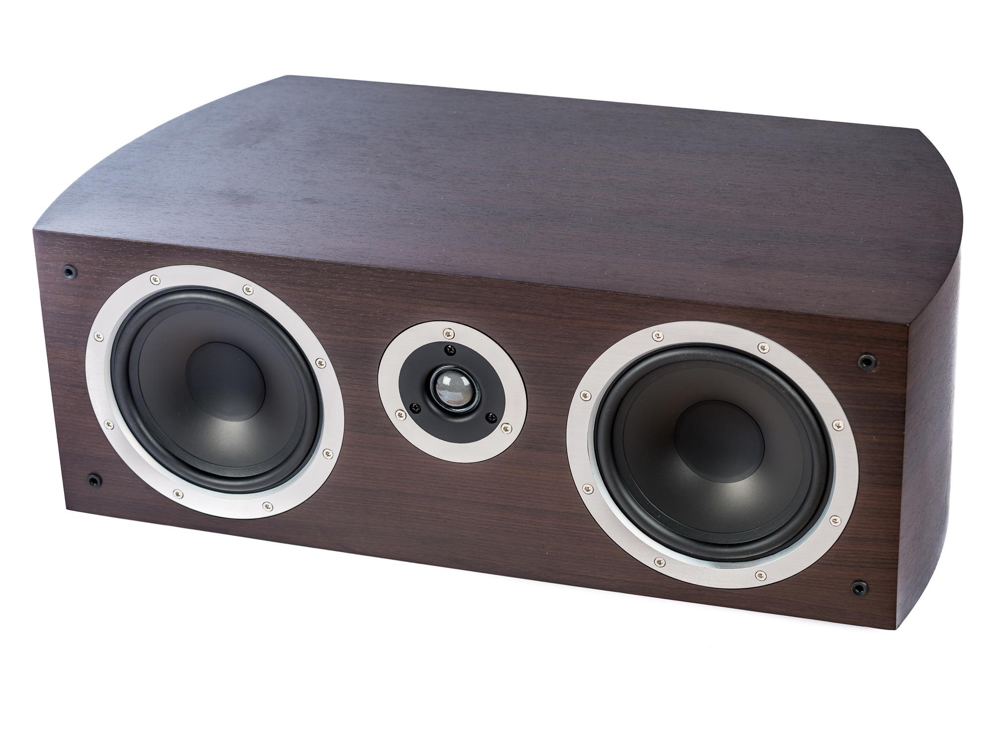 PG Audio universeller XL Center Lautsprecher ,2 Wege Bassreflex, mocca, B-Ware – Bild 2