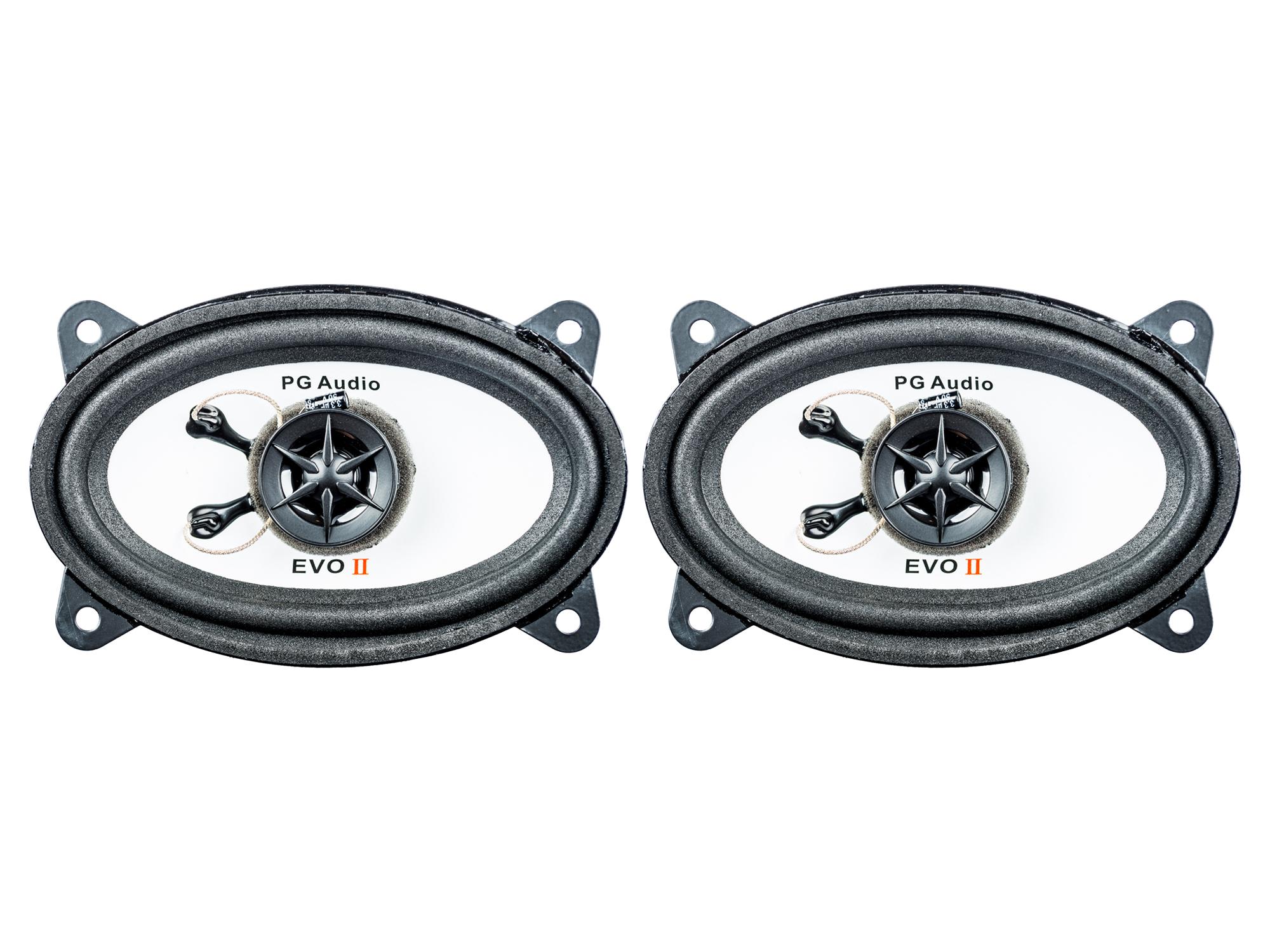[Paket] Lautsprecher 4x6 Zoll BMW 3er,5er,7er, Chevrolet Aveo,Kalos und K-Serie