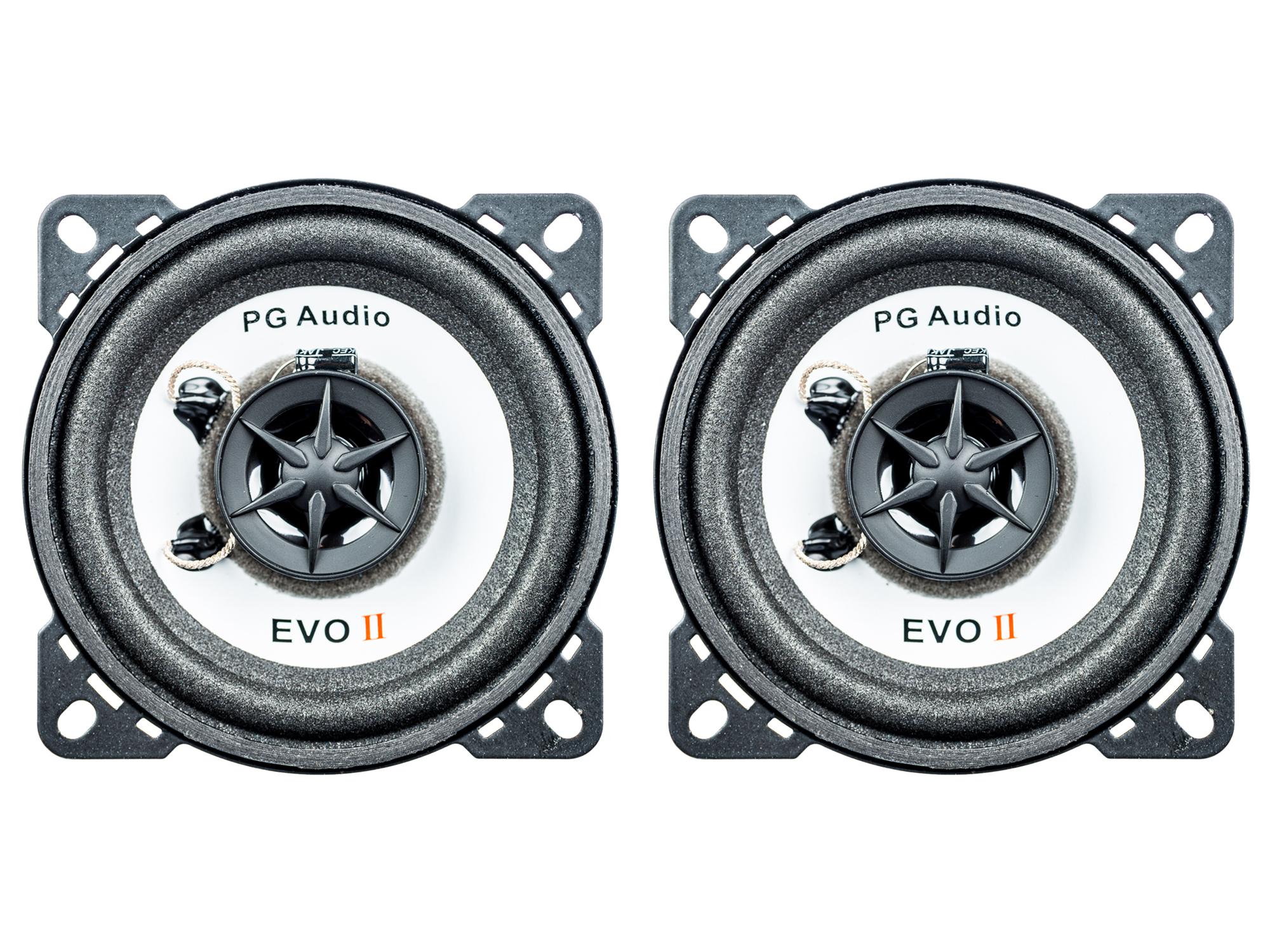 PG Audio EVO II 10.2,2-Wege-Koax,passend für Audi,BMW,Porsche,Seat,Skoda,VW  001
