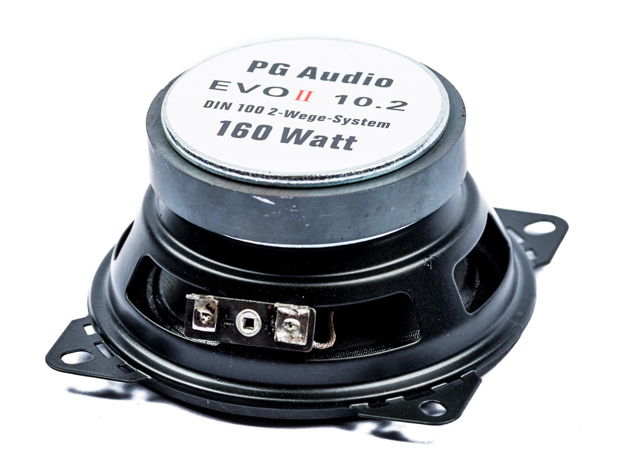 PG Audio EVO II 10.2,2-Wege Koax, Coax passend für Citröen,Peugeot,Renault – Bild 3