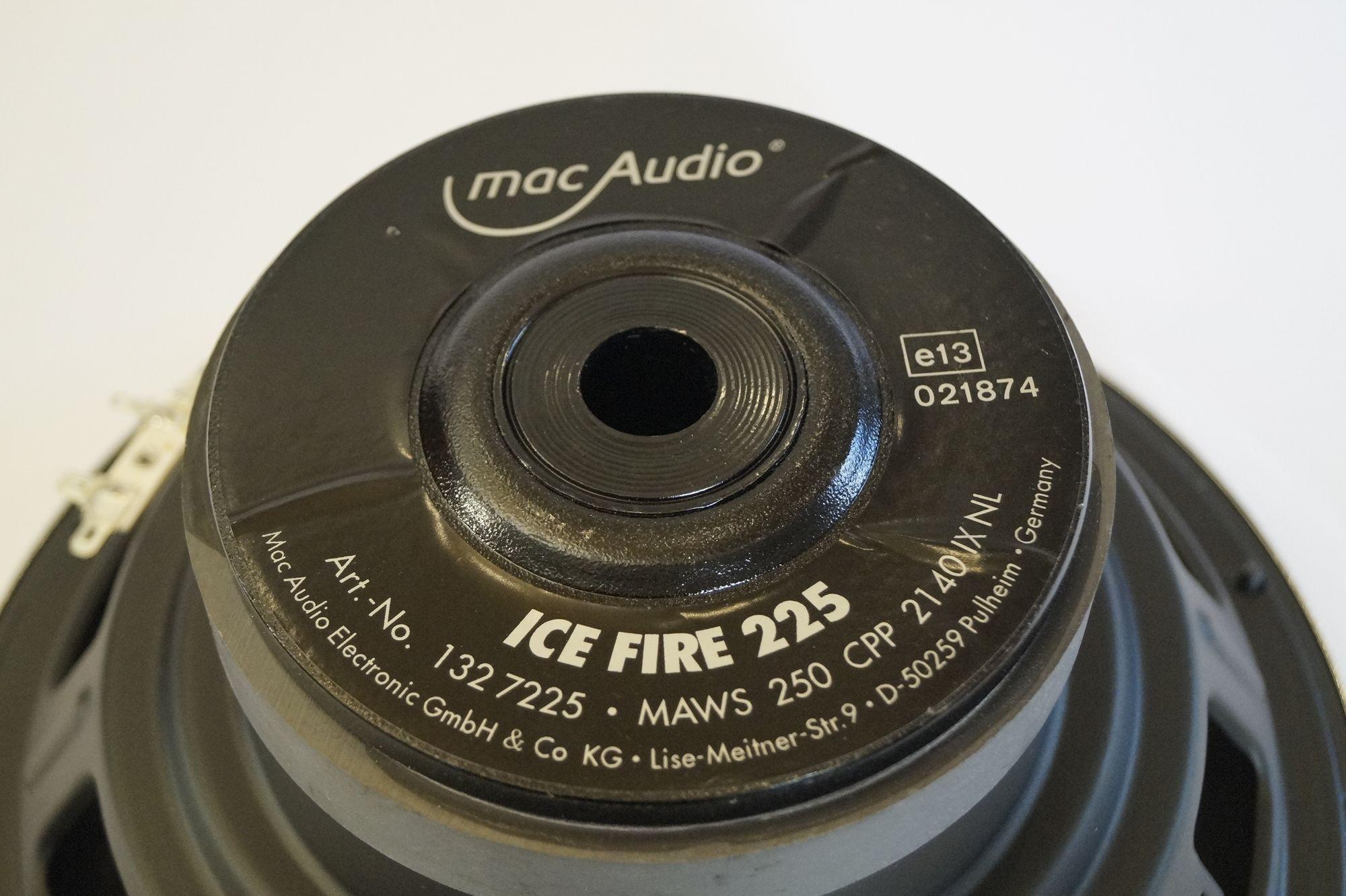 1 Stück Mac Audio ICE FIRE 225 MAWS 250 CPP 2140 IX NL, SERVICEWARE – Bild 3
