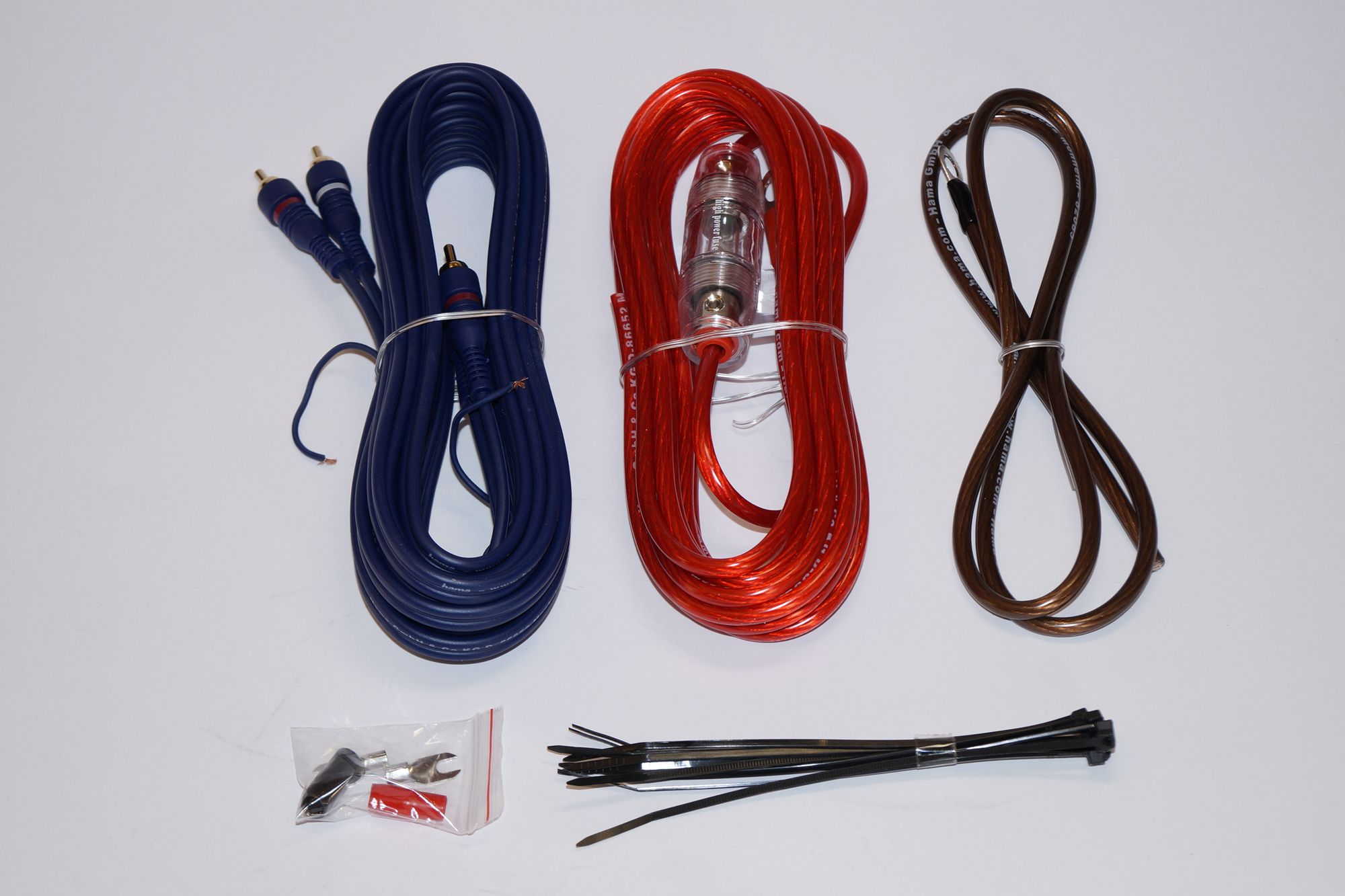 Car Hifi-Auto Kabel-Set, Hama AMP KIT 6 mm2