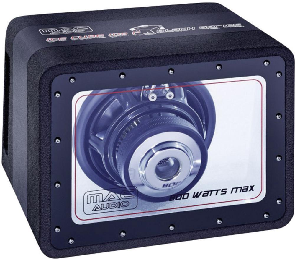 Mac Audio Ice Cube 108 A Black Series, Subwoofer, max. 400 Watt 1 Stück NEU