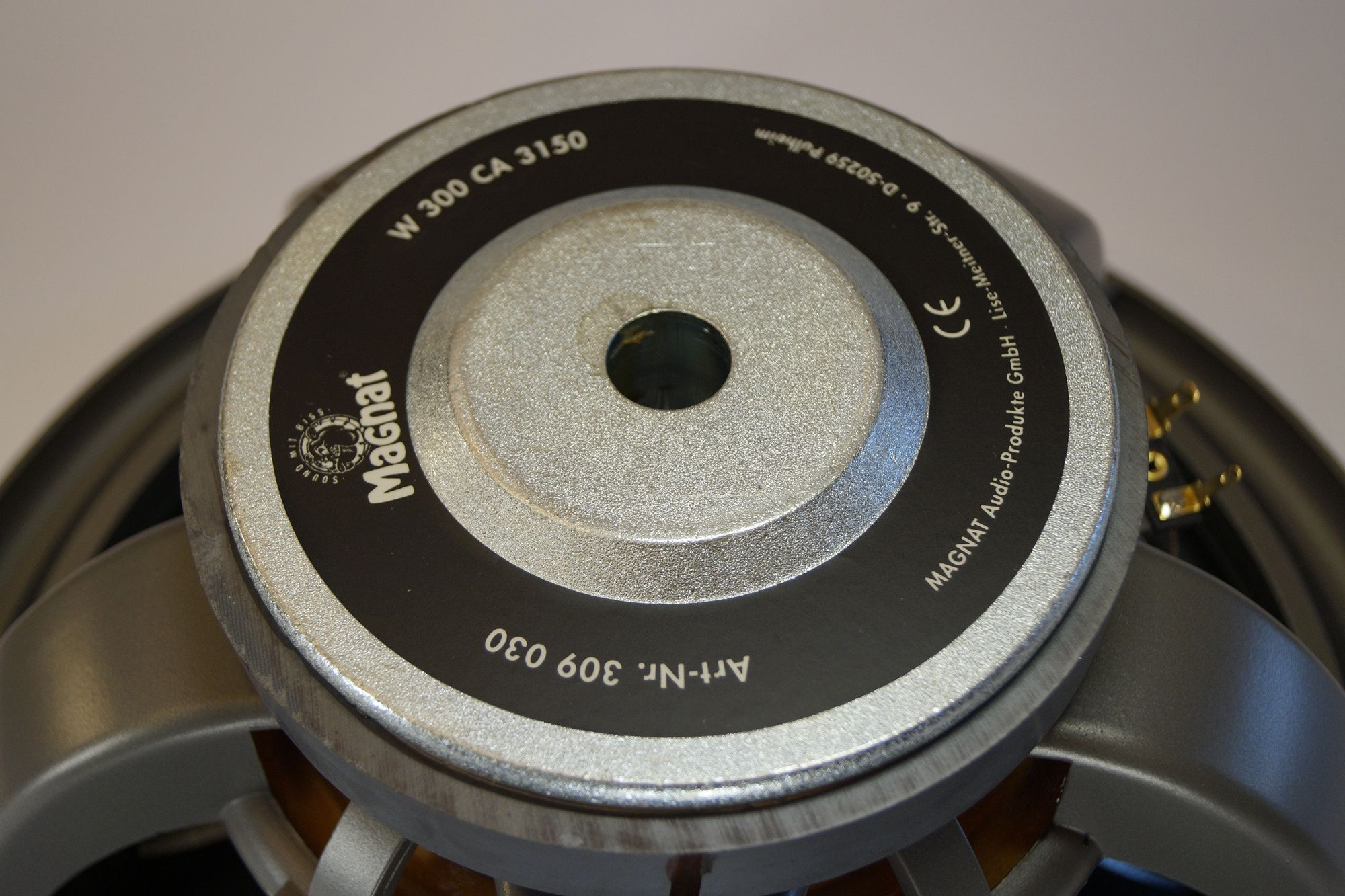 Magnat Vintage 770 Tieftöner W 300 CA 3150 30 cm 12 Zoll Basslautsprecher – Bild 3