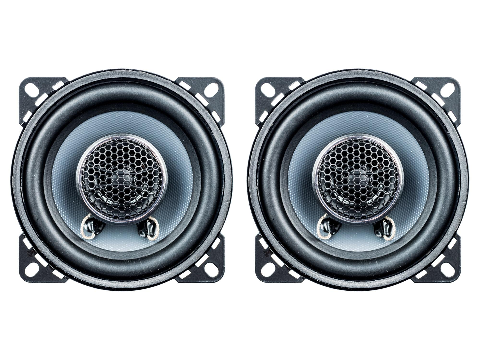 Koax Lautsprecher 10cm 2-Wege Coax passend für Ford,Opel und Saab PG Audio – Bild 1