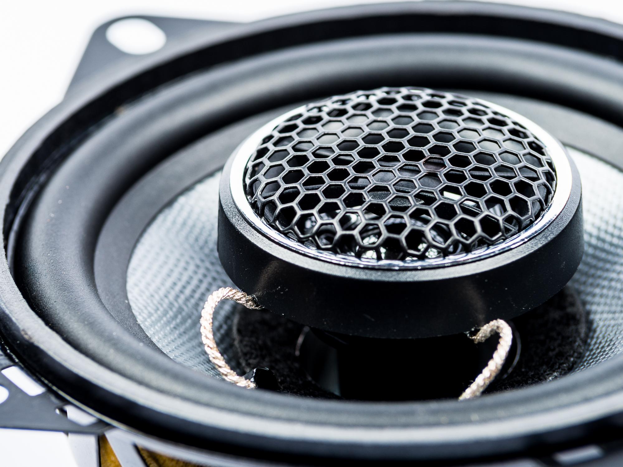 Koax Lautsprecher 10cm 2-Wege Coax passend für Ford,Opel und Saab PG Audio – Bild 4