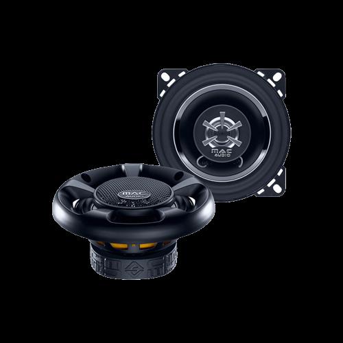 Mac Audio MPE 10.2, 2-Wege Koaxial-Lautsprecher 1 Paar passend für Audi,BMW,Porsche,Seat,Skoda,VW