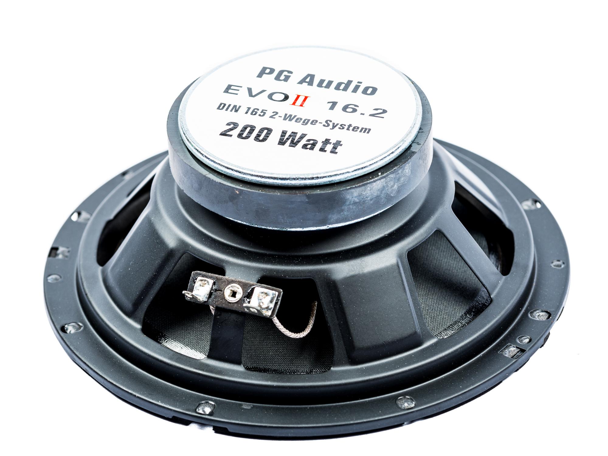 PG Audio Evo II 16.2, 2-Wege Koax-System passend für mehrere Fahrzeuge, 2 Paar-Set – Bild 3