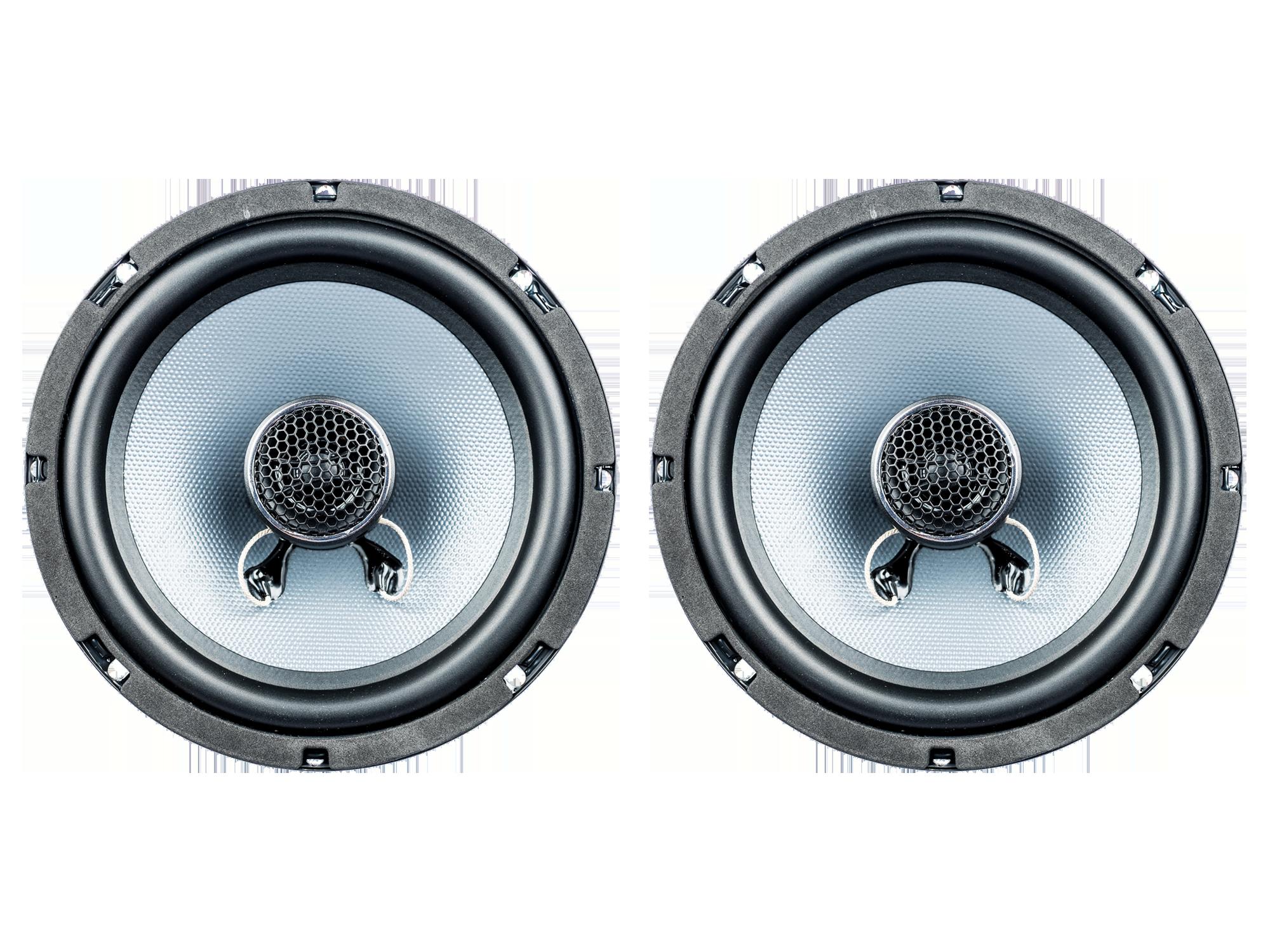 PG Audio EVO III 16.2, 16 cm Coax Lautsprecher für Ford,Opel,Lada,Rover,Subaru & Volvo