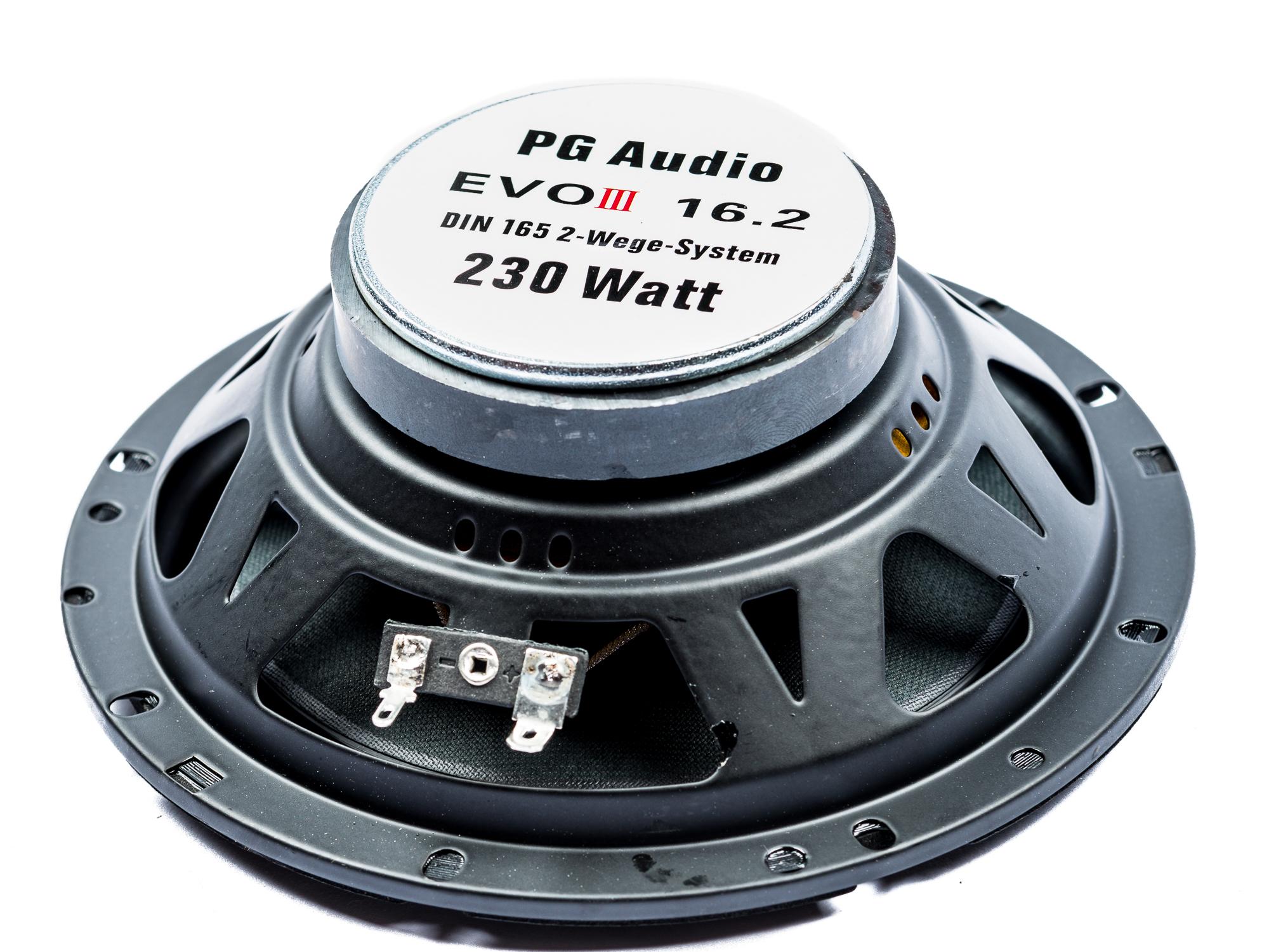 PG Audio EVO III 16.2, 16 cm Coax Lautsprecher für Ford,Opel,Lada,Rover,Subaru & Volvo – Bild 3