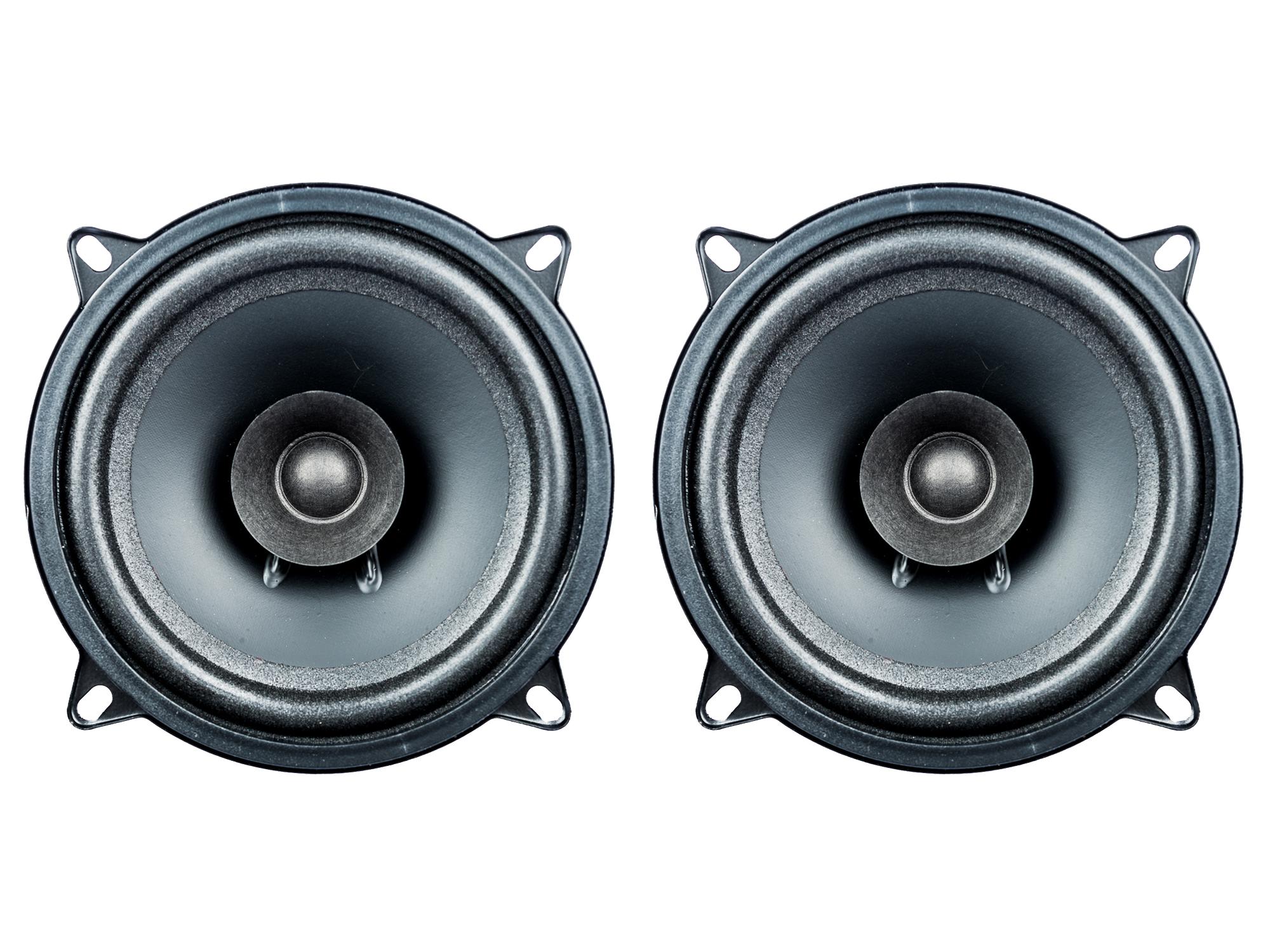 [Paket] 1 Paar PG Audio EVO I 13.2, 13 cm Dual Cone Lautsprecher passend für Alfa Romeo, Fiat, Saab, Smart