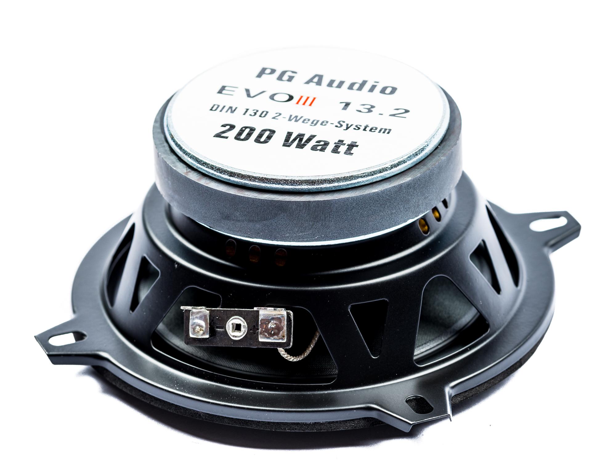 PG Audio EVO III 13.2, 13 cm Coaxial Lautsprecher passend für Audi, BMW, Mercedes & Volvo – Bild 3