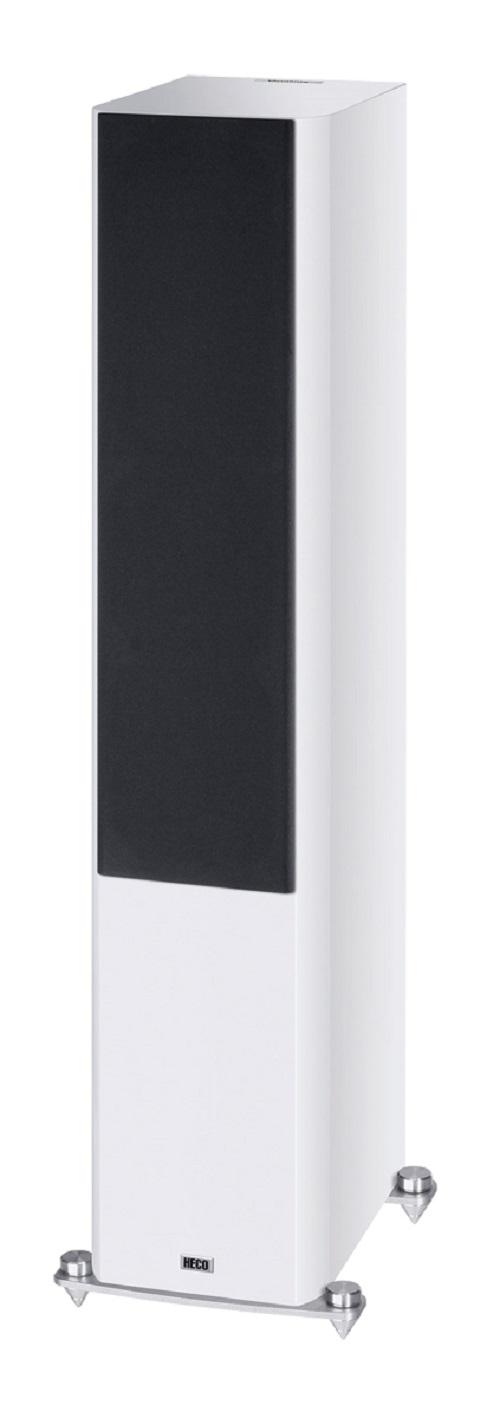 B Ware Heco Elementa 700 3-Wege Bassreflex Lautsprecher weiß/seidenmatt, 1 Stück – Bild 2