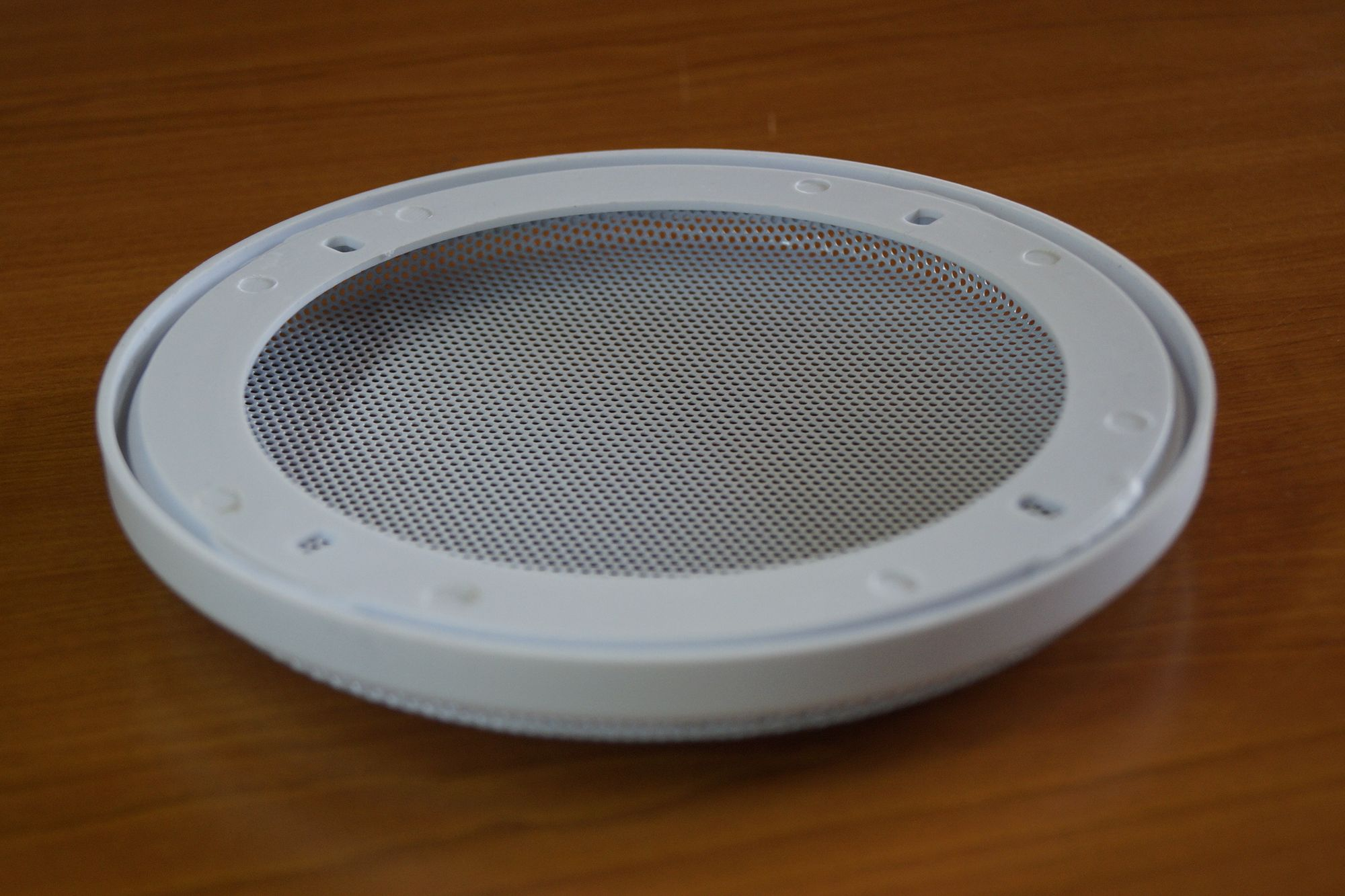 1 Paar DIN-160 Lautsprecher-Universalabdeckung Abdeckung Gitter weiß  – Bild 4