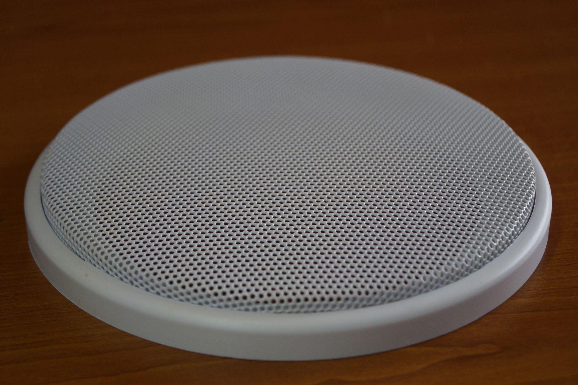 1 Paar DIN-160 Lautsprecher-Universalabdeckung Abdeckung Gitter weiß  – Bild 3