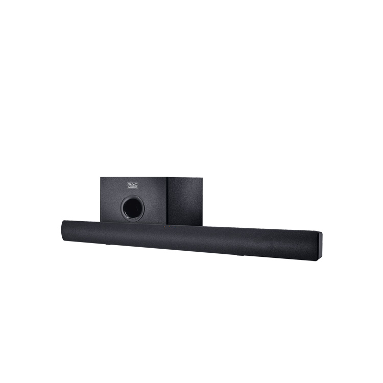 B Ware Mac Audio Soundbar 1000, Vollaktive Heimkino-Soundbar mit Subwoofer