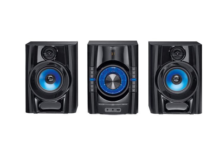 Mac Audio MPS  501 High-Power Hifi-System mit DAB+, Bluetooth, USB, CD, AUX, RDS - schwarz 1 Stück  – Bild 1