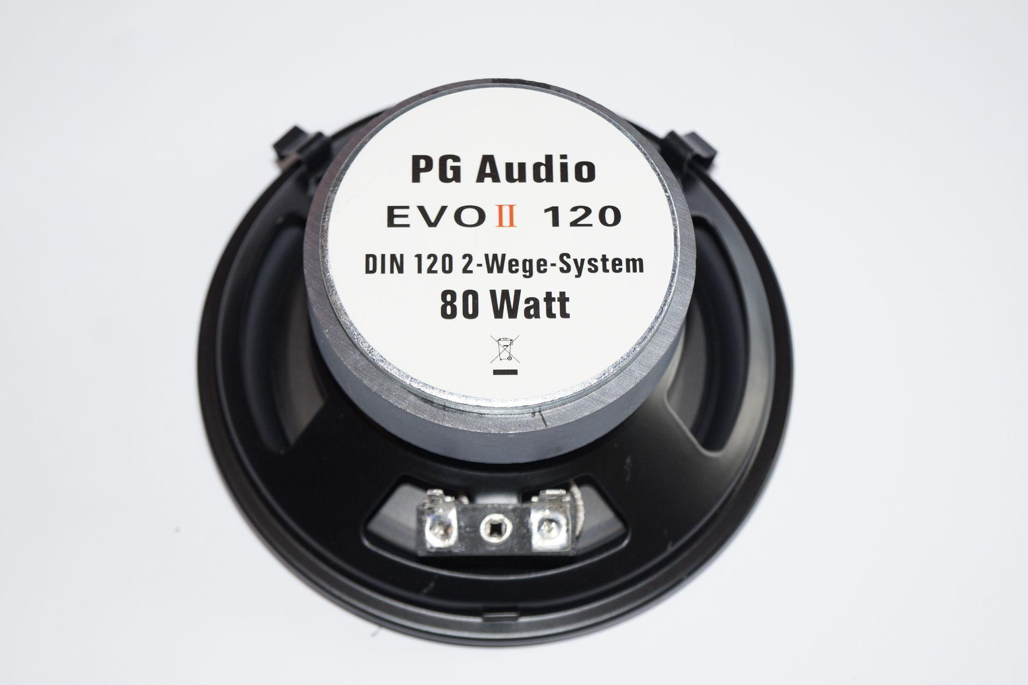 PG Audio EVO II 120, 12 cm 2 Wege Coaxial Auto Lautsprecher , Neu-Ware 1 Paar – Bild 2
