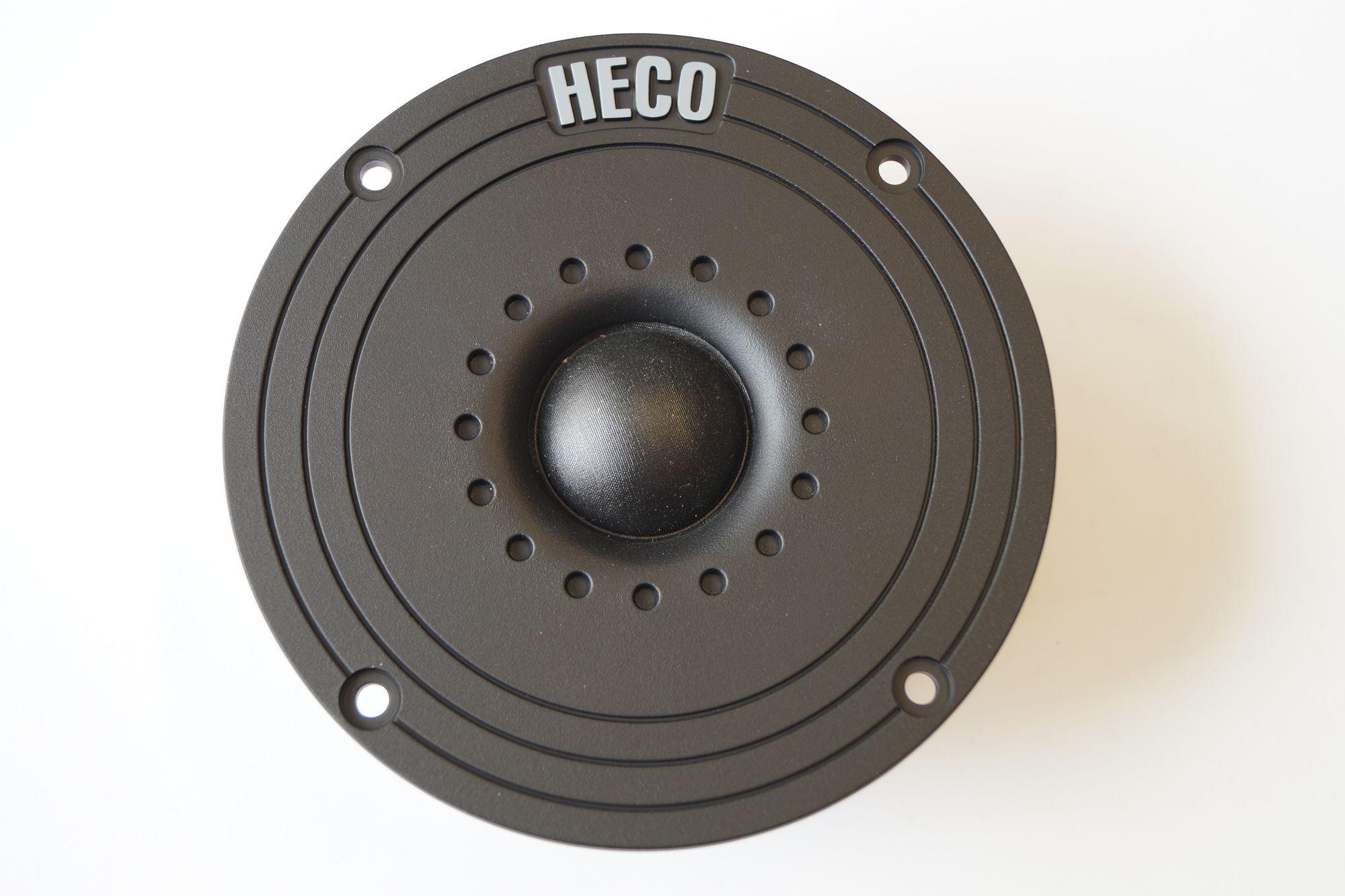 1 Paar 25 mm Gewebe Hochton-Kalotte Heco HT25K-GE670 S 75 Watt max., Serviceware