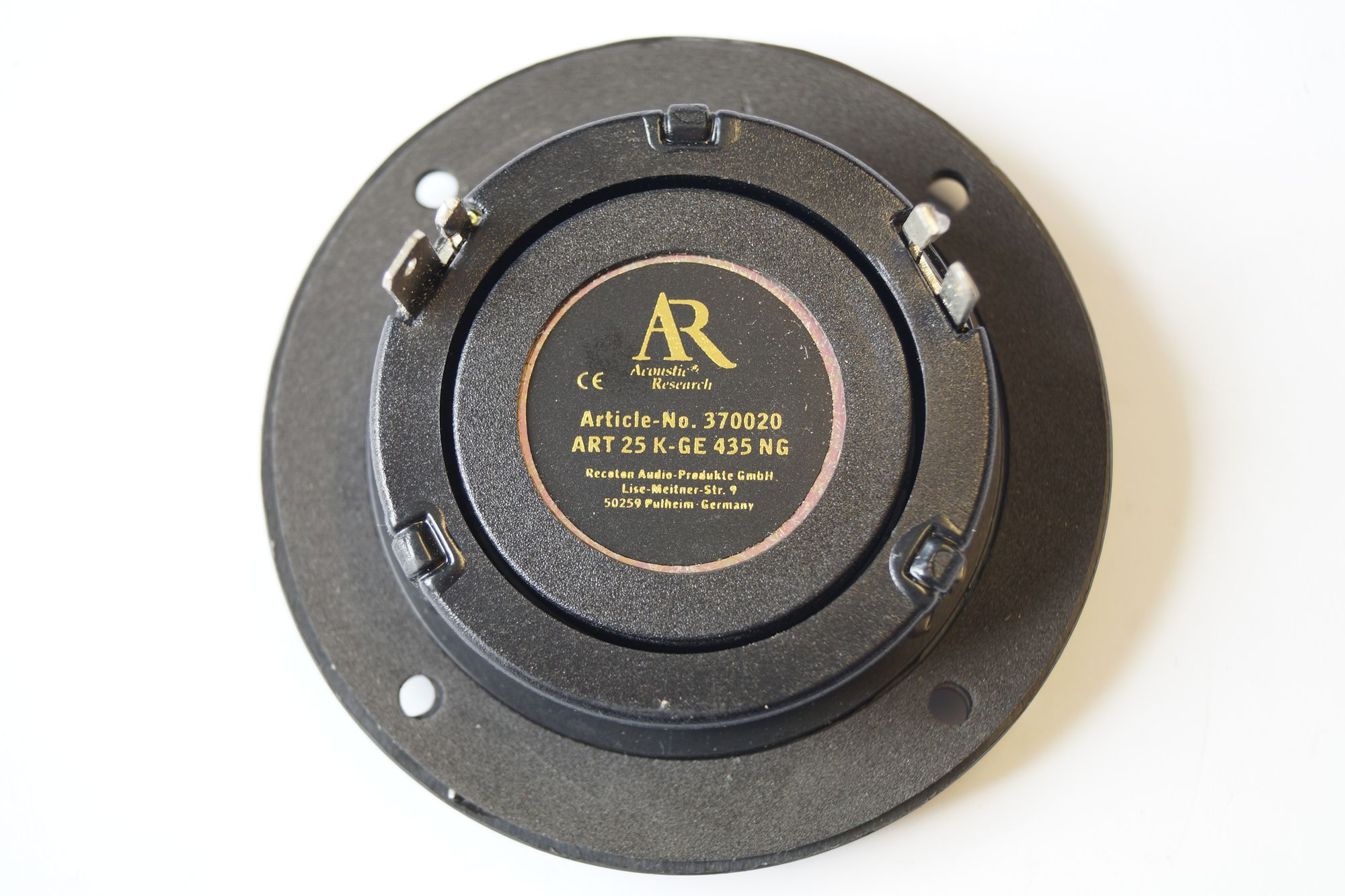 Acoustic Research ART 25 K-GE 435 NG 25 mm Hochton-Kalotte 1 Paar – Bild 2