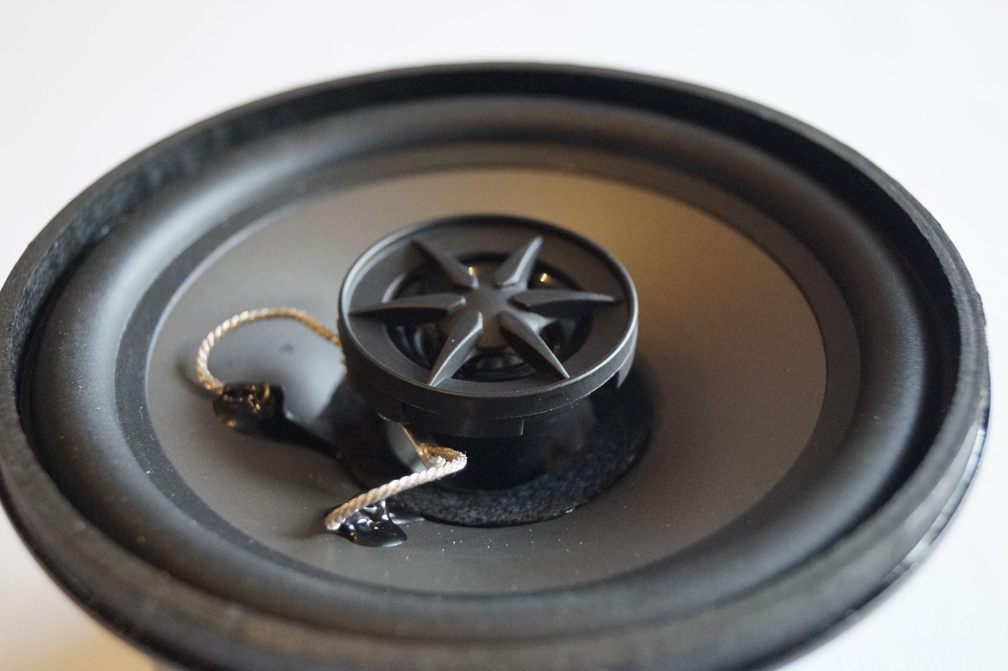 Mercedes Benz W 124 2 Wege Lautsprecher Front Armaturenbrett PG Audio 1 Paar  – Bild 3