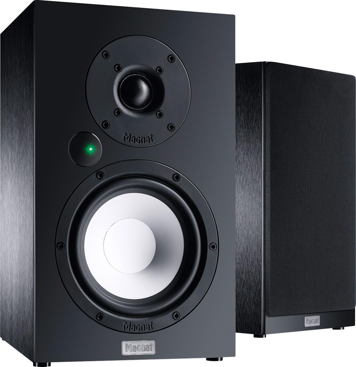 B Ware Magnat Multi Monitor 220, Vollaktives Bluetooth-Stereolautsprecher-Set mit Phonoeingang, 1 Paar 001