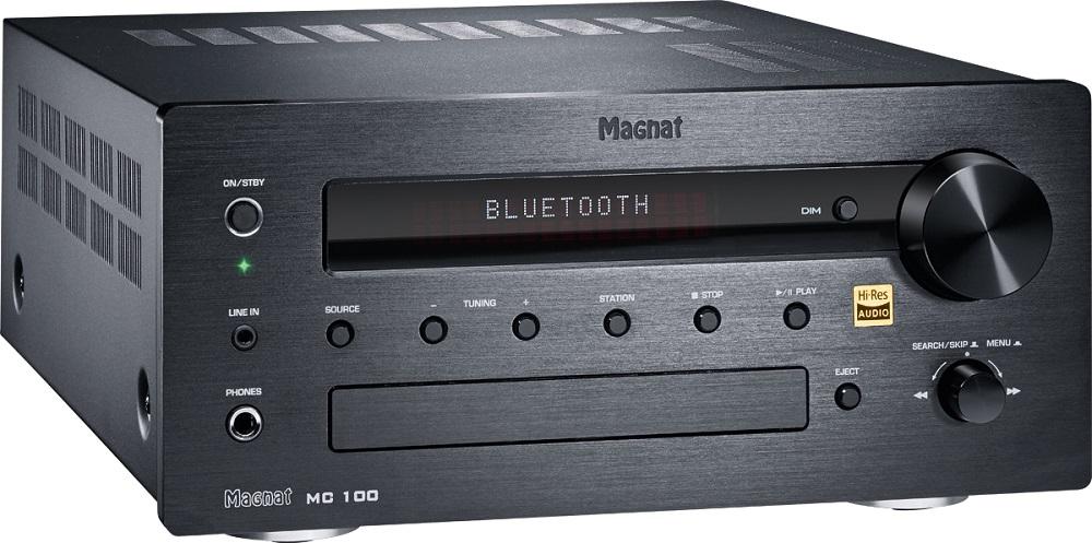 Magnat MC 100,  Stereo DAB+ FM CD Receiver, 140 Watt max. schwarz, Neu – Bild 2
