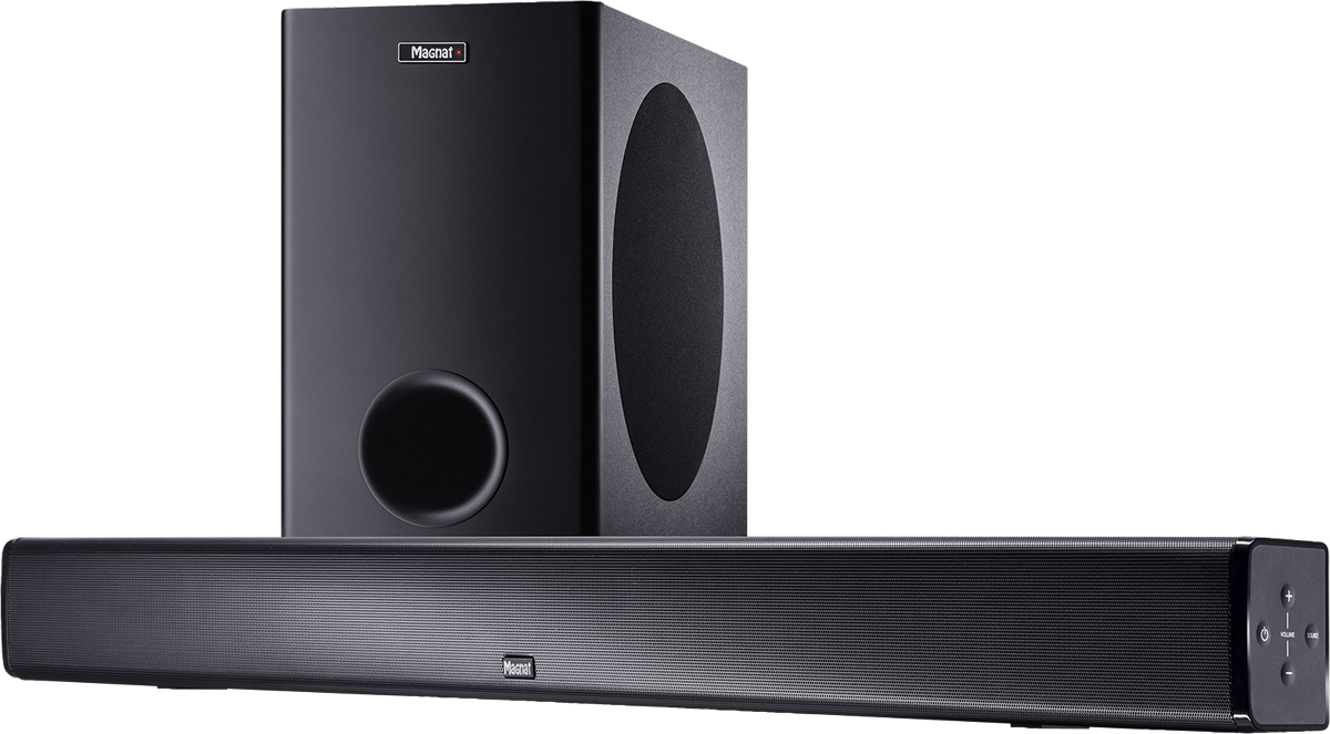 Magnat CSB 1000, Vollaktive Heimkino-Soundbar mit Wireless Subwoofer