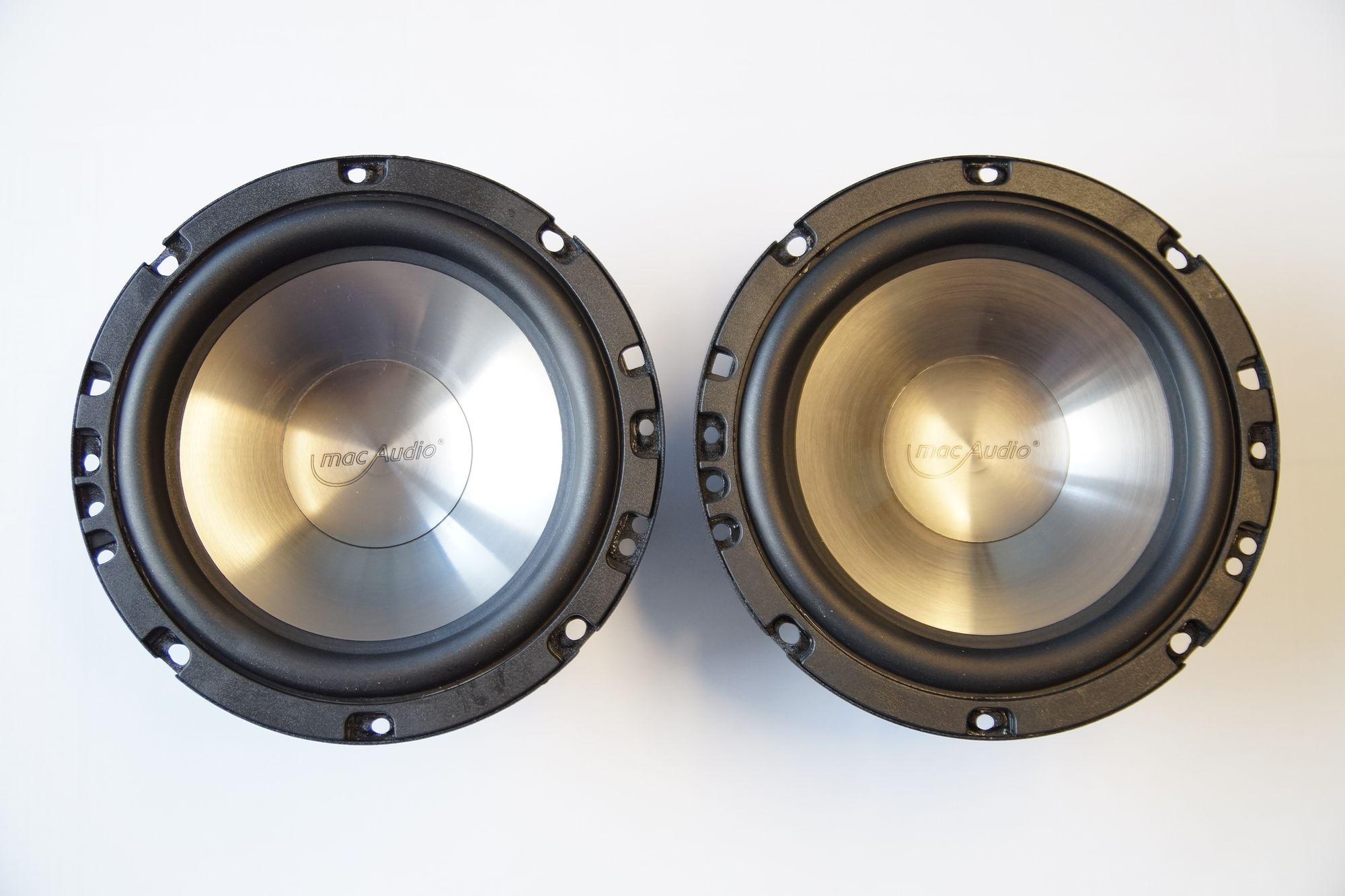 165 mm Kickbass Tiefton Lautsprecher Subwoofer 16 cm mac Audio Audio DVD 2.16
