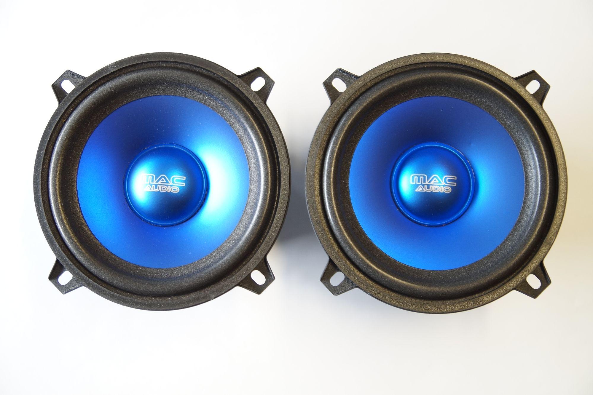 1 Paar 130 mm Subwoofer/Kickbass mac Audio Premium X  2.13, NEU 001