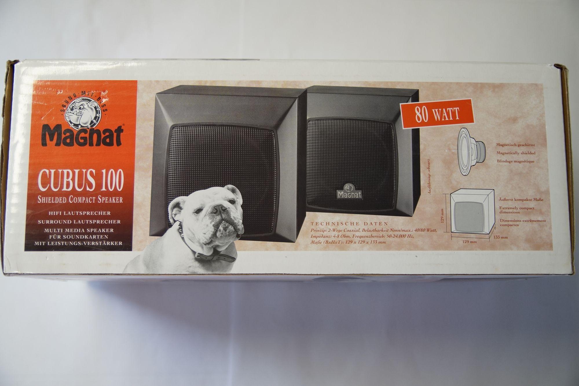1 Paar Magnat 100 Compact Lautsprecher schwarz 2 Stück Neu – Bild 2