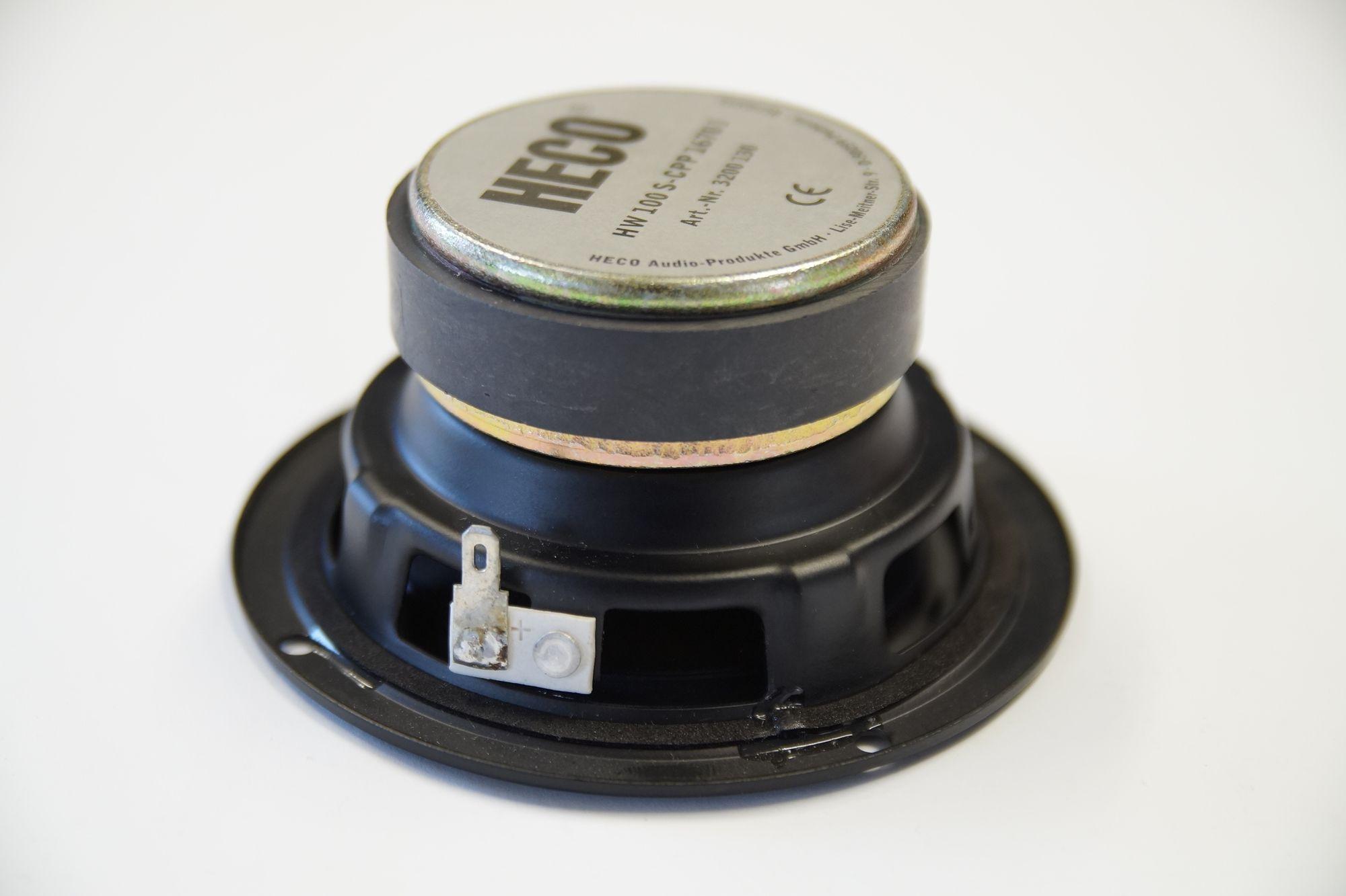1 Stück 100 mm Tiefmitteltöner HW100S-CPP1670 I  140 Watt, NEU – Bild 2