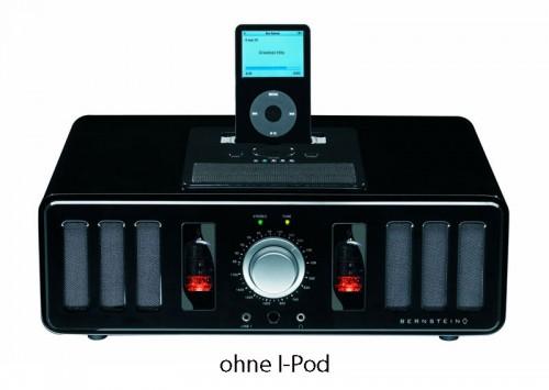 Audiovox Bernstein ITR 10 Retro Röhrenradio schwarz NEU 1 Stück