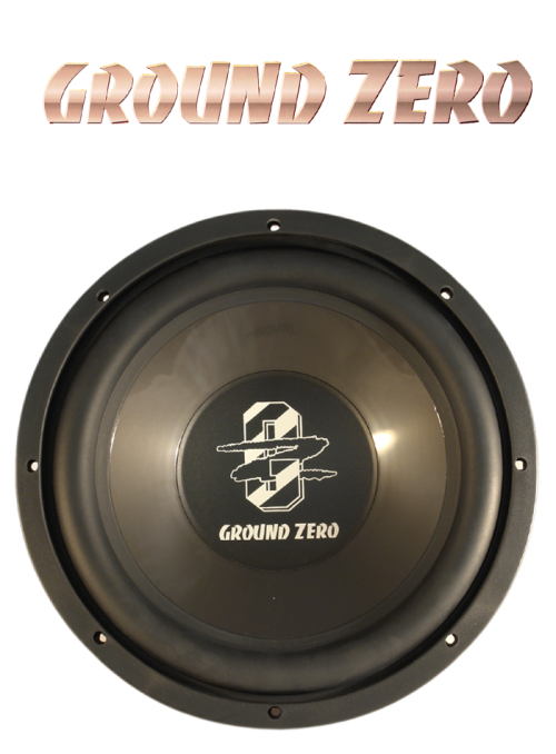 "Ground Zero GZIW 300, 12"" 30 cm Subwoofer , 350 Watt max. NEU 001"