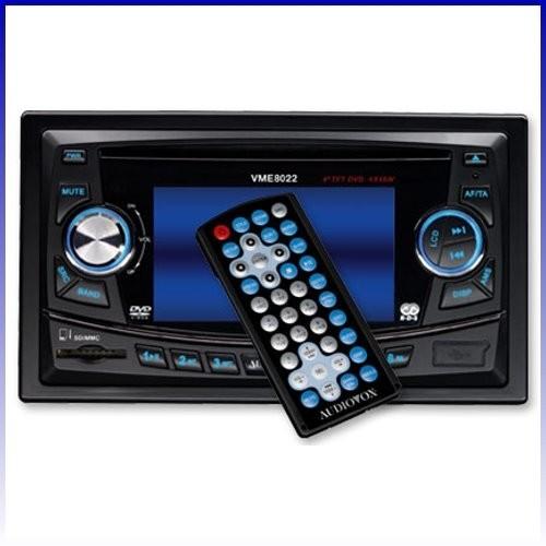 "Audiovox VME 8022 8,9 cm (3,5"") TFT Moniceiver Doppel DIN Radio NEU"