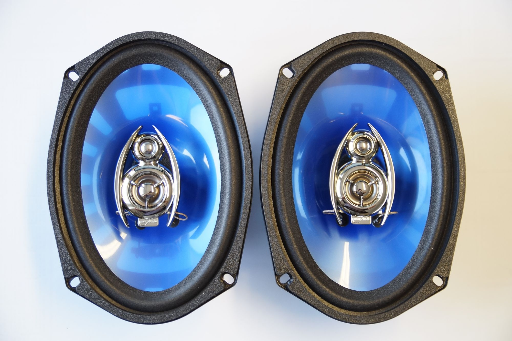 1 Paar 3-Wege 6x9 Zoll Triax System mac Audio Premium S 69.3 LED