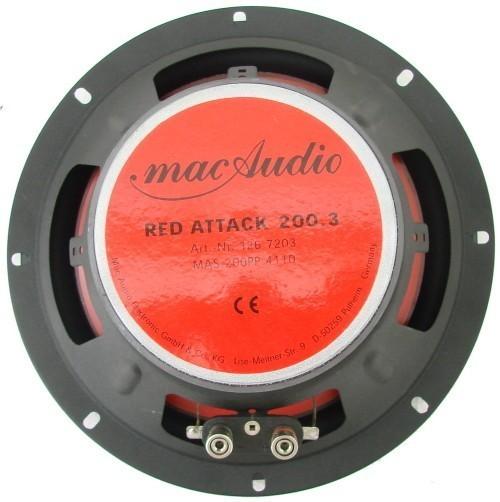 1 Paar 200 mm 3-Wege Triax mac Audio Red Attack 200.3 – Bild 4
